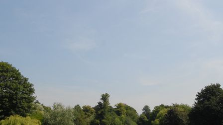 Verulamium Park, St Albans, where the offence occurred