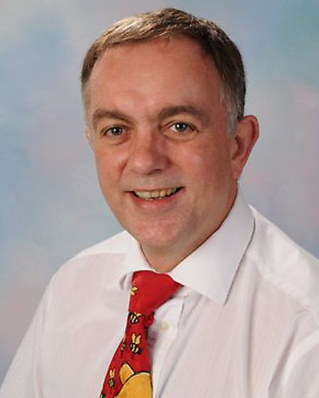 Richard Hill, headteacher at Colnbrook Special School for 20 years, received an OBE for his services