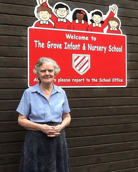 Diana Burdett has worked at The Grove Infant and Nursery school for more than 30 years and has recei