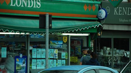 Londis convenience store in Hatfield Road, St Albans, where police officers failed to find banned su