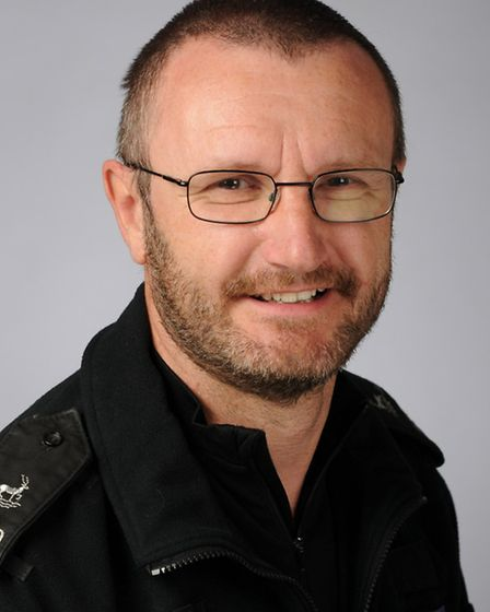 Pc Mark Smith is based within the London Colney Safer Neighbourhood Team