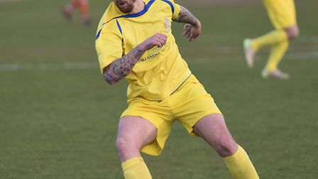 Lee Allinson 'extremely pleased' with signing of Sam Merson at St Albans City. Picture: BOB WALKLEY