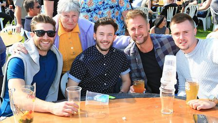 Fun in the sun at Royston Beer Festival. PICTURE: Kevin Richards.
