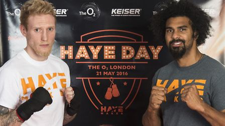 London Colney's Ollie Pattison and David Haye were both victorious at Haye Day at London's O2 Arena