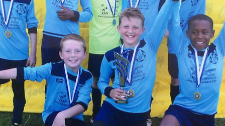 Melbourn Dynamos Panthers FC claim second tournament in as many weeks