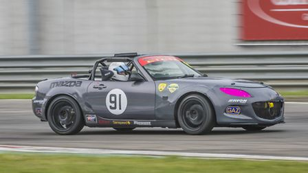 Jamie Goddard claims his first British Racing & Sports Car Club MX-5 Supercup Championship podium in