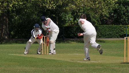 Max Capaldi hit an unbeaten 49 and took one wicket as St Albans beat Welwyn Garden City by five wick