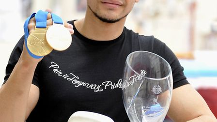 Louis Smith helped Great Britain to team silver at the European Championships.