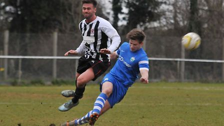 London Colney's Sam Doolan was named as manager's player of the year. Picture: DANNY LOO