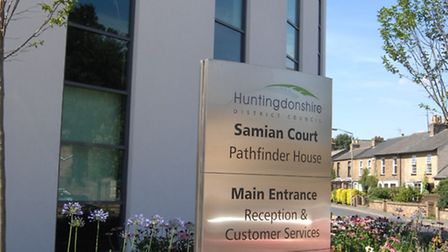 Pathfinder House, home to Huntingdonshire District Council.
