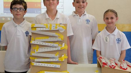 Team Eagles won the competition overall by saving up their STEAM points at Roysia School.