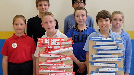 Falcons and Kestrels built the slowest marble runs with a time of 19 seconds.