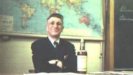 Geography teacher, Mr Alexander, who retired in 1980.