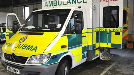 A motorcyclist was hospitalised after a collision in Smallford