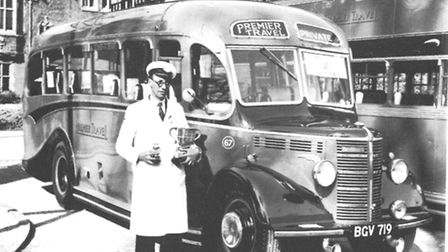 Syd Pennell, Premier Travel coach driver of the year 1956