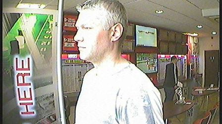 Police release CCTV in connection with fraud offence in Huntingdon