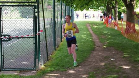 Joe Dunn was the first Strider home at the Wheathampstead 10K