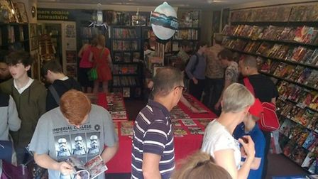 Free Comic Book Day 2016, Chaos City Comics in St Albans