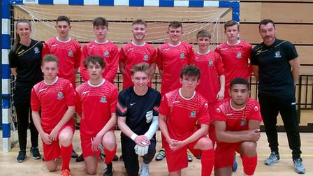 St Neots Town Under 16s have reached the national finals of the FA National Youth Futsal Festival.