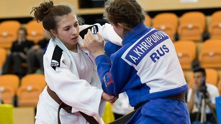 Amy Platten battles to bronze in the European Cup at Portugal