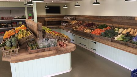 The Carpenters farm shop