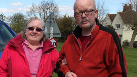 David Govan and his wife Marilyn.