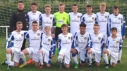 St Neots Town Under 15s won the Hunts Cup.