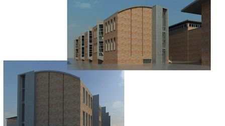 St Albans School has proposed building a new Mathematics faculty. Image provided by pHp Architects