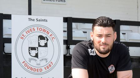 St Ives Town assistant manager Jack Cassidy. Picture: HELEN DRAKE