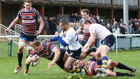 Chris May is one of six players from the district called up to represent England Counties. Picture: