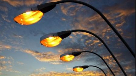 Part-night street lighting is to be replaced by LED lights