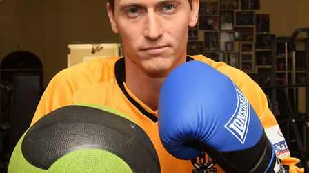 Footballer David Bridges is set for a sporting switch when having first fight as an amateur boxer.