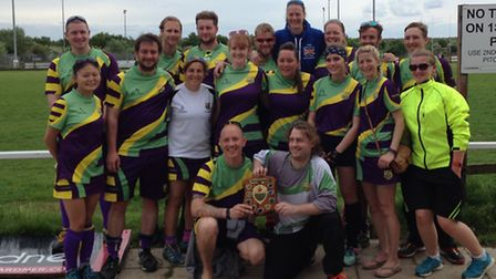 St Ives' mixed team retained their title at the Ely Hockey Tournament.