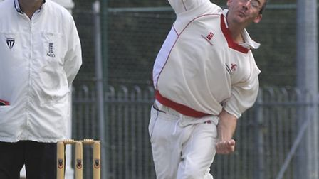 Steve Marsh took five wickets for Godmanchester 2nds in their Division One defeat against unbeaten R
