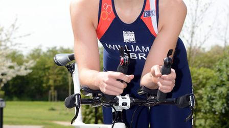 Jess Williams won a silver medal at the World Duathlon Championships. Picture: HELEN DRAKE