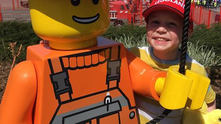 Toby Price with Lego character