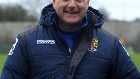 New St Neots Town joint manager Robbie O'Keefe.