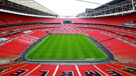 The National League have proposed playing all three play-off finals at Wembley Stadium. Picture: JAN