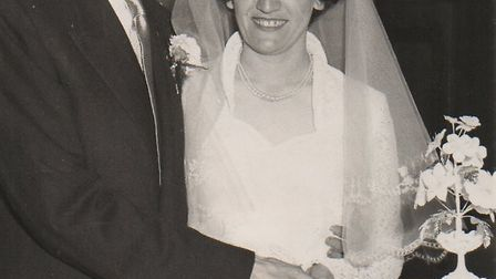 Walter and Vera both married in 1956 after meeting on holiday in Jersey in 1953