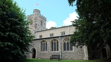 All Saints Church is one of three in the village