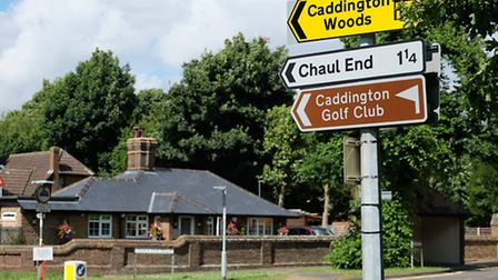 Caddington Golf Club is currently closed for redevelopment