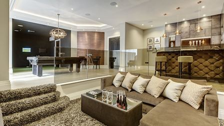 Luxurious: 25a London Road, Shenley, on sale with Godfrey and Barr