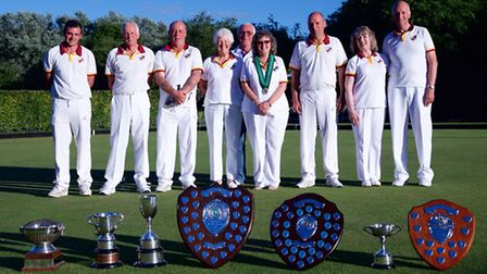Hemingfords won the Victor Ludorum Trophy as the most successful club at the Huntingdonshire County