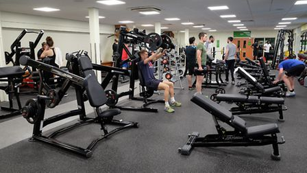 New equipment on display at the Nuffield Health open day