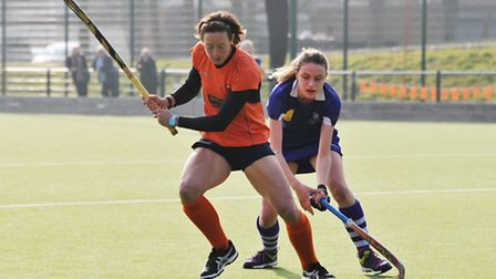 Hannah Macleod says everything is prepared for next season at St Albans Hockey Club. Picture: DANNY