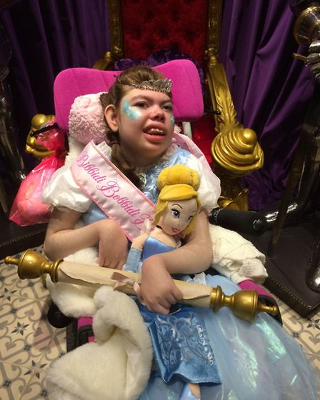 Rosie Snell''s special Princess Day, organised by Starlight Children's Foundation
