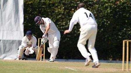 James Heslam bats for Reed