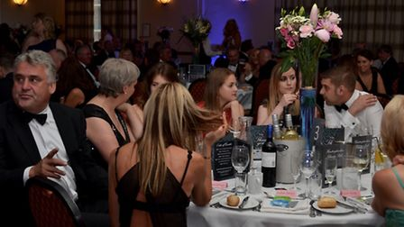 The Marriott Hotel welcomed more than 100 guests for the ball. Picture: Dishy Daddy Photography.