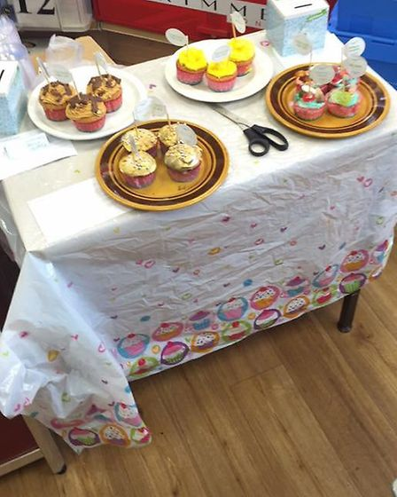 Four stores in Wheathampstead took part in the charity Cupcake Day