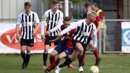 Colney Heath start their FA Vase cmapign for 2016/2017 in the second qualifying round. Picture: HARR